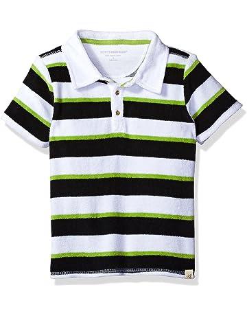 5eb417ae Burt's Bees Baby Baby Boys' T-Shirt, Short Sleeve V-Neck and