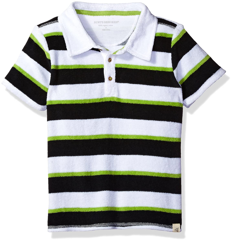 Burt's Bees Baby Baby Boys' Organic Short Sleeve Knit Terry Polo Tee TD24316