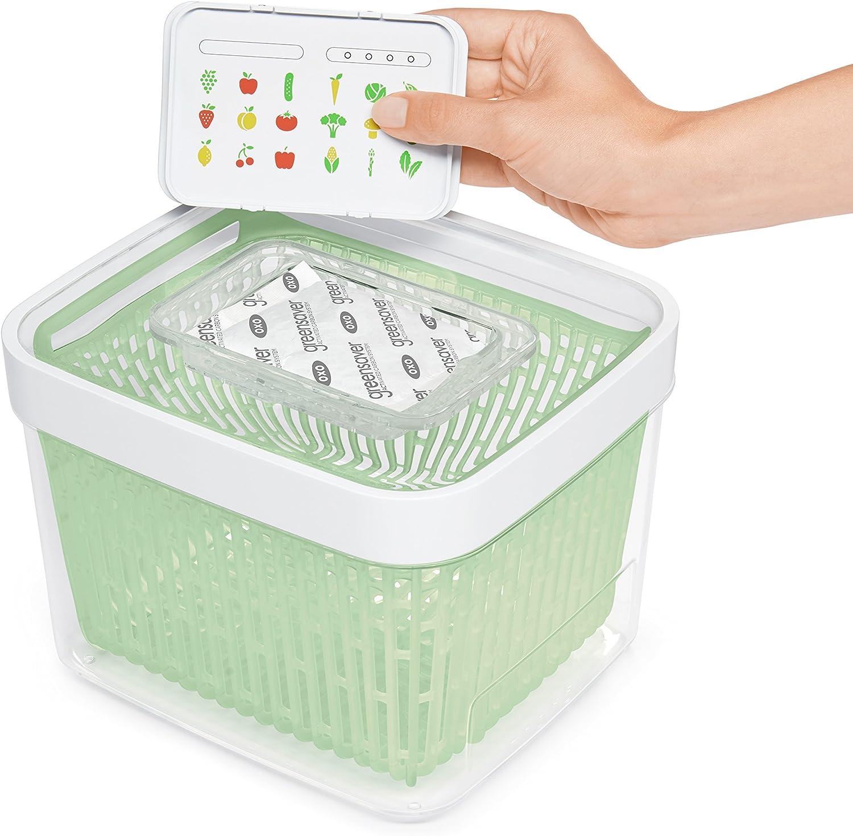 4 L Good Grips GreenSaver Contenitore Conservazione Alimenti OXO