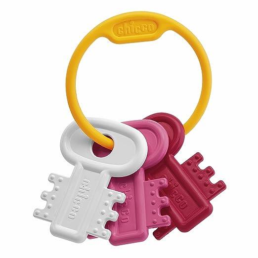 49 opinioni per Chicco 63216100100- Giocattolo per la dentizione, Chiavi, colore: Rosa