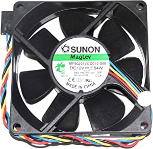 For DELL P/N:725Y7 Fan ,SUNON 808020mm MF80201VX-Q010-S99 12V 3.84W 4Wire 8cm Cooling Fan