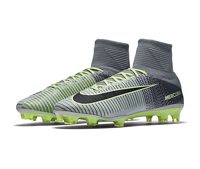 bed7f3792 ... new zealand amazon nike mens mercurial superfly v firm ground cleats  pure platinum 11 soccer 410e9