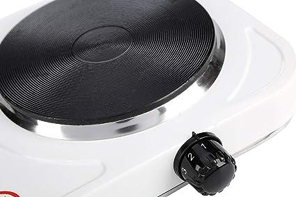 cocina eléctrica de un fogón portatil 1500W, Placa eléctrica ...