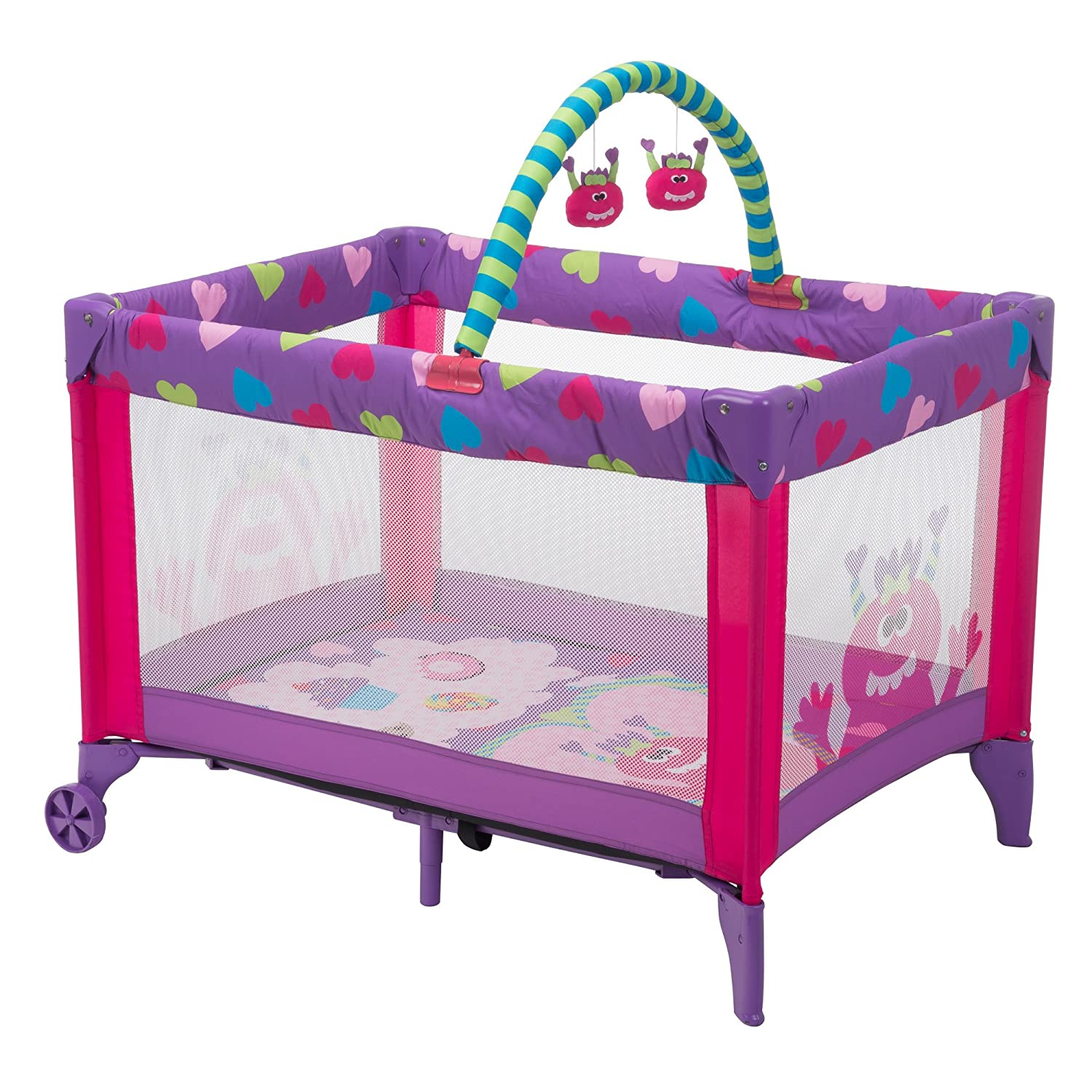 Cosco Funsport Deluxe Play Yard, Monster Shelley by Cosco   B017VNO45U