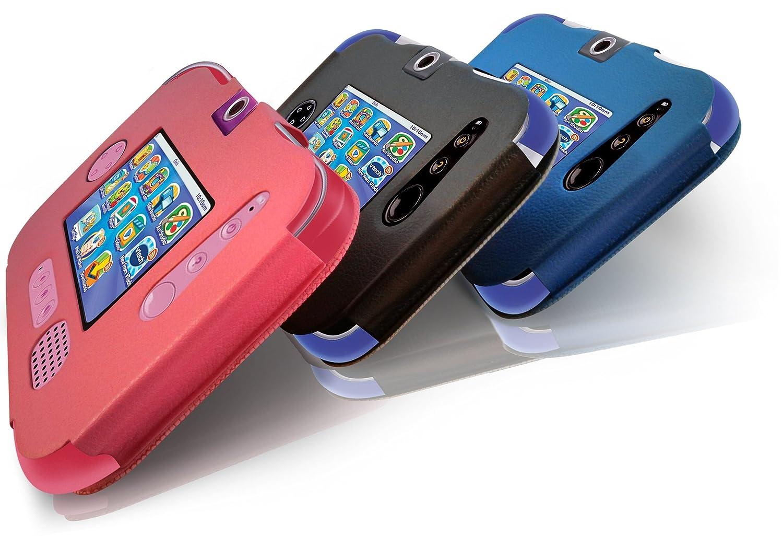 LuvTab® VTech InnoTab 3S / Storio 3S Tasche Case Hülle, Mit Aufsteller Funktion (Schwarz)