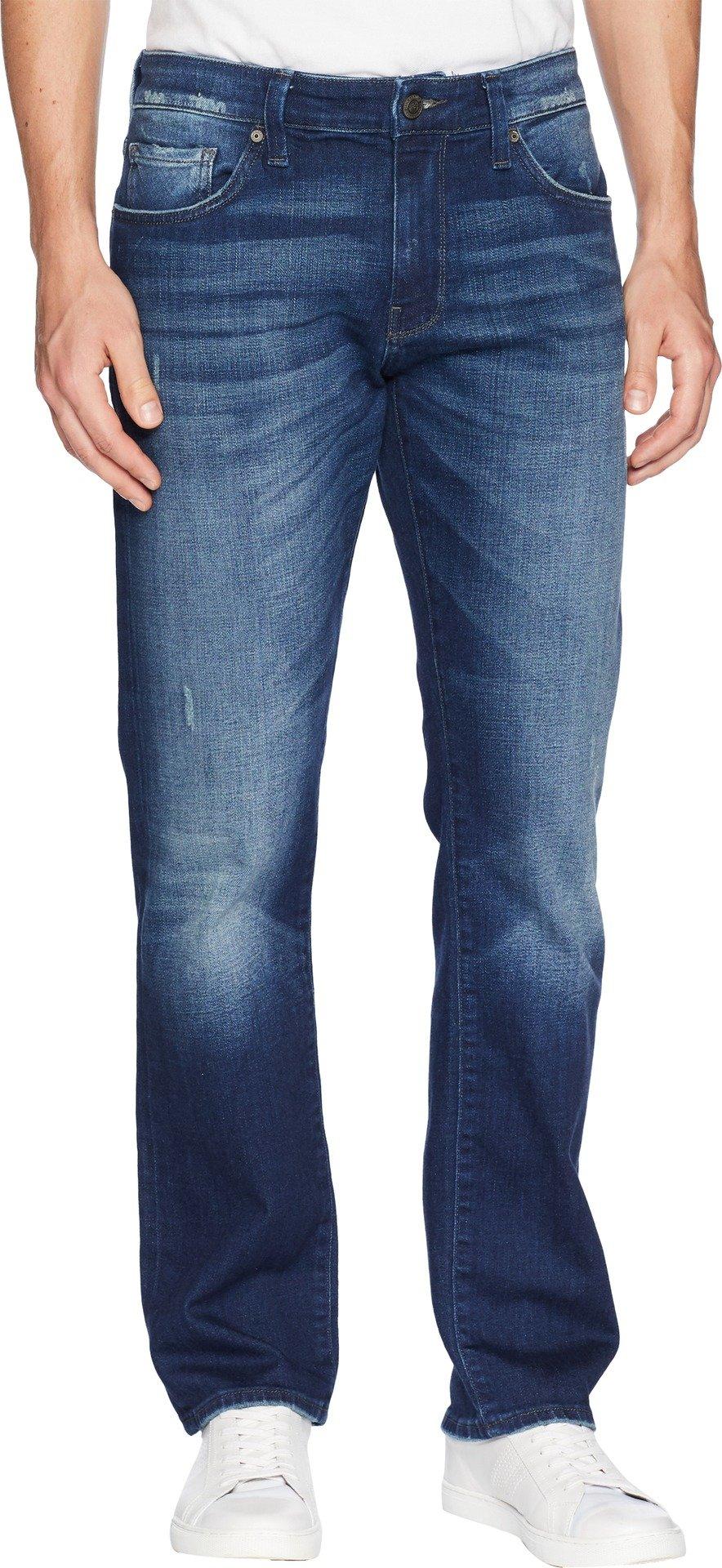 Mavi Men's Zach Straight Leg, Dark Brooklyn, 34/32