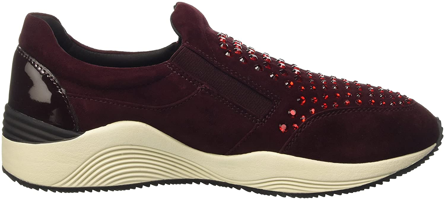 Geox D Omaya C, Baskets Basses Femme: : Chaussures