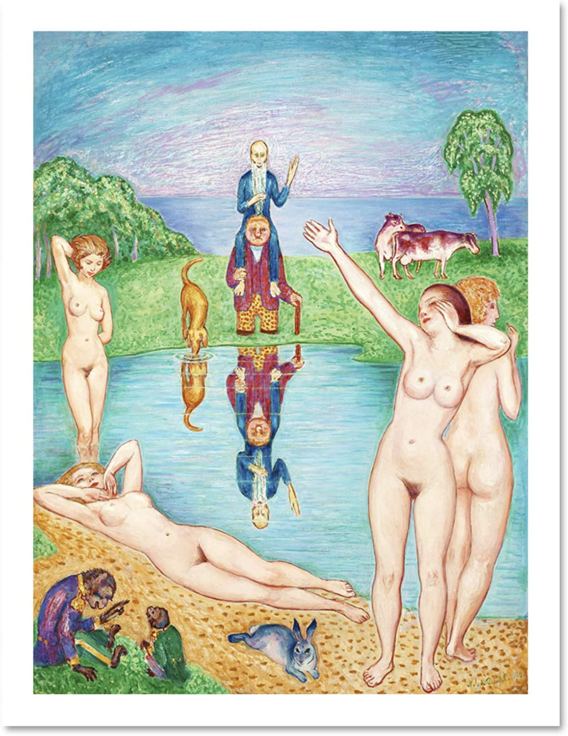 NILS VON DARDEL ATERKOMSTEN TILL UNGDOMENS PLAYGROUNDS YOUTH PRINT POSTER LF270