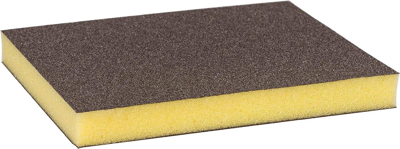 Bosch Professional 2608608230 Esponja S473 Profile Fina (Madera, plástico y Metal, 98 x 120 x 13 mm, Accesorios para Lijado a Mano), Fino