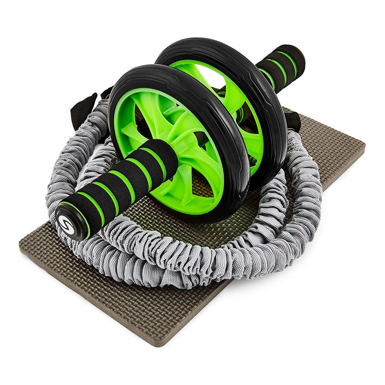 Sportastisch Profi Bauchroller Extreme Ab Roller Widerstandsbänder und Matte bei amazon kaufen