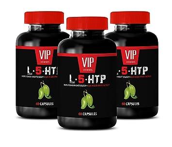 Amazon com: Serotonin Supplements Men - L-5-HTP - for Mood and