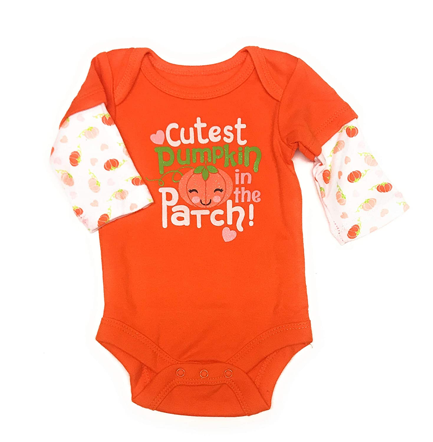 Careful 0-3 Month Patterned Floral Long Sleeve Bodysuits Clothing, Shoes & Accessories Baby & Toddler Clothing