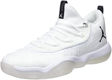 best service f78cb 1c284 Jordan Super.Fly 2017 Low, Chaussures de Basketball Homme, Blanc (White