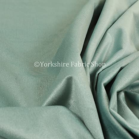 Ivory Velvet Chenille Curtain//Craft Fabric by the metre