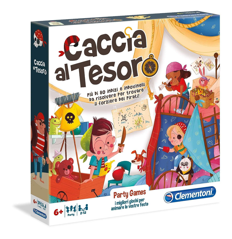 Clementoni Party Games-Caccia AL Tesoro,, 16153: Amazon.es ...