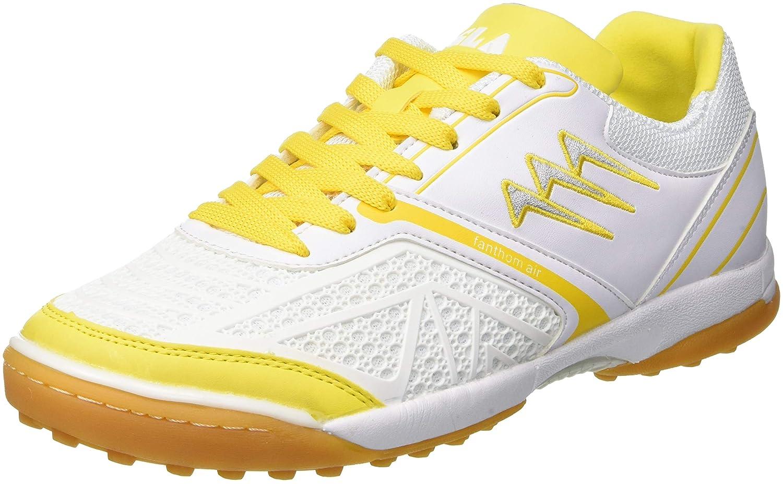AGLA Fanthom Zapatos de Futsal Outdoor, Blanco/Amarillo, 27 cm/42.5 cm/42.5 cm/42.5 53ac55