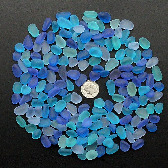 MYAMIA 20Pcs Mar Playa Perlas De Cristal Joyería Florero Acuario Pecera Decoraciones Artesanales 10-16Mm: Amazon.es: Hogar