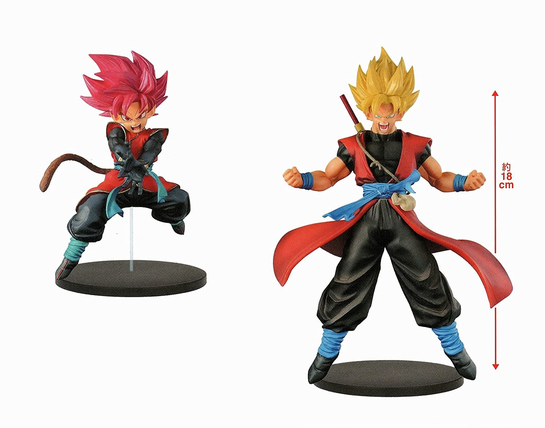 Banpresto Super Dragon Ball Heroes DXF 7th Anniversary DBZ Set 2 pieces