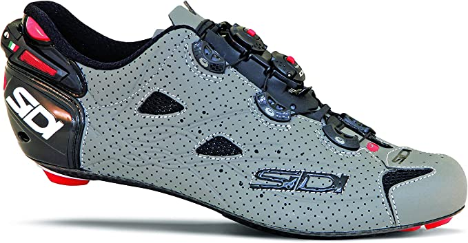 SIDI Shot Air Road Zapatillas de ciclismo, Gris (Negro/Gris Mate ...