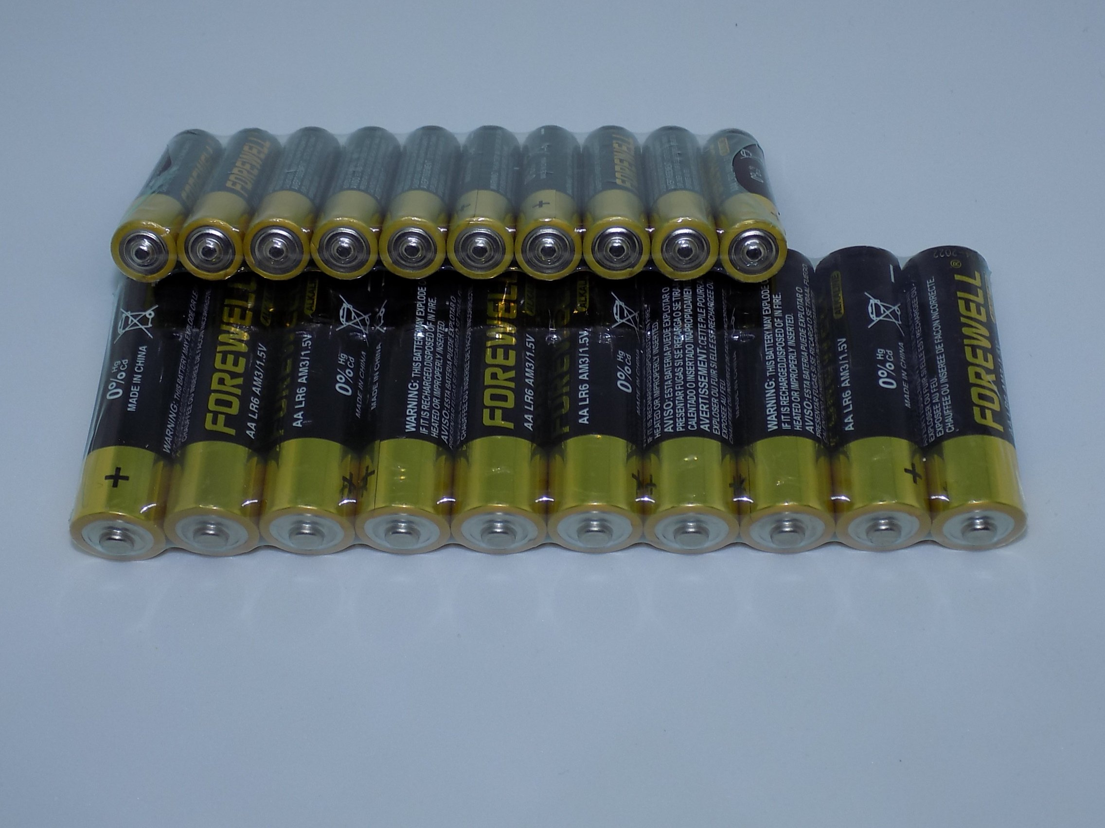Alkaline d cell batteries,High Capacity Alkaline Batteries,AA (5 # 2800mAH) and AAA (7 # 1200mAH) , A total of 20Pack (10Pack per Model)