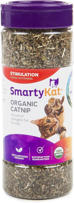 Amazon Com Smartykat Organic Catnip 2 Oz Canister Catnip