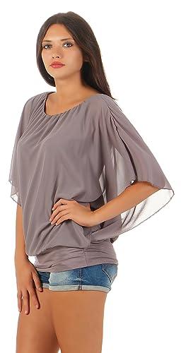 Matyfashion - Camisas - Básico - Cuello redondo - para mujer