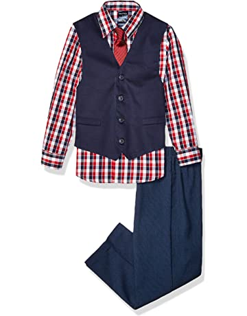 fdb787e998 Nautica Boys  4-Piece Vest Set with Dress Shirt