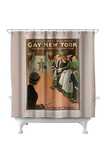 Vintage gay shower