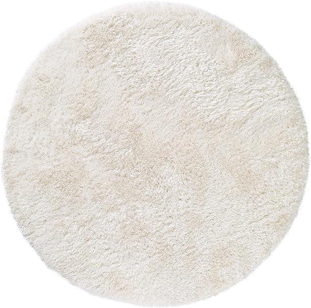 Benuta Hochflor Teppich Rund Lea Oeko Tex Standard 100 Siegel 50 Polyester 50 Polypropylen Uni Maschinengewebt Wohnzimmer Amazon De Kuche Haushalt