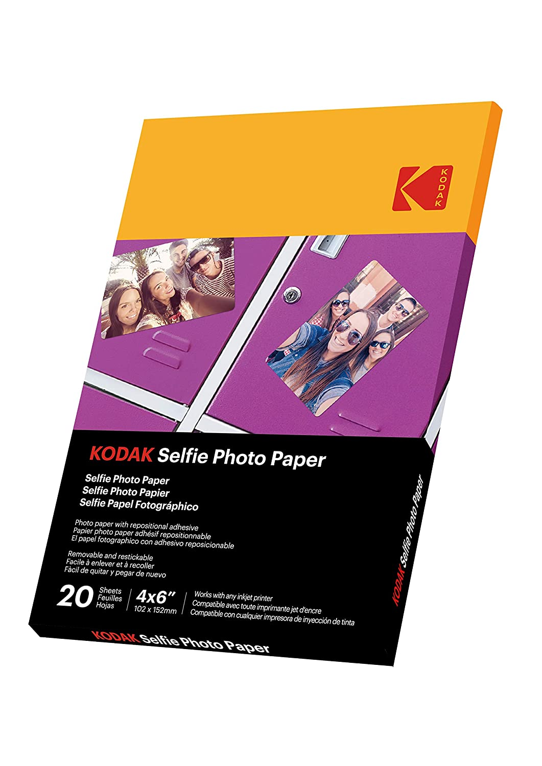 Amazon.com : KODAK Selfie Photo Paper : Office Products