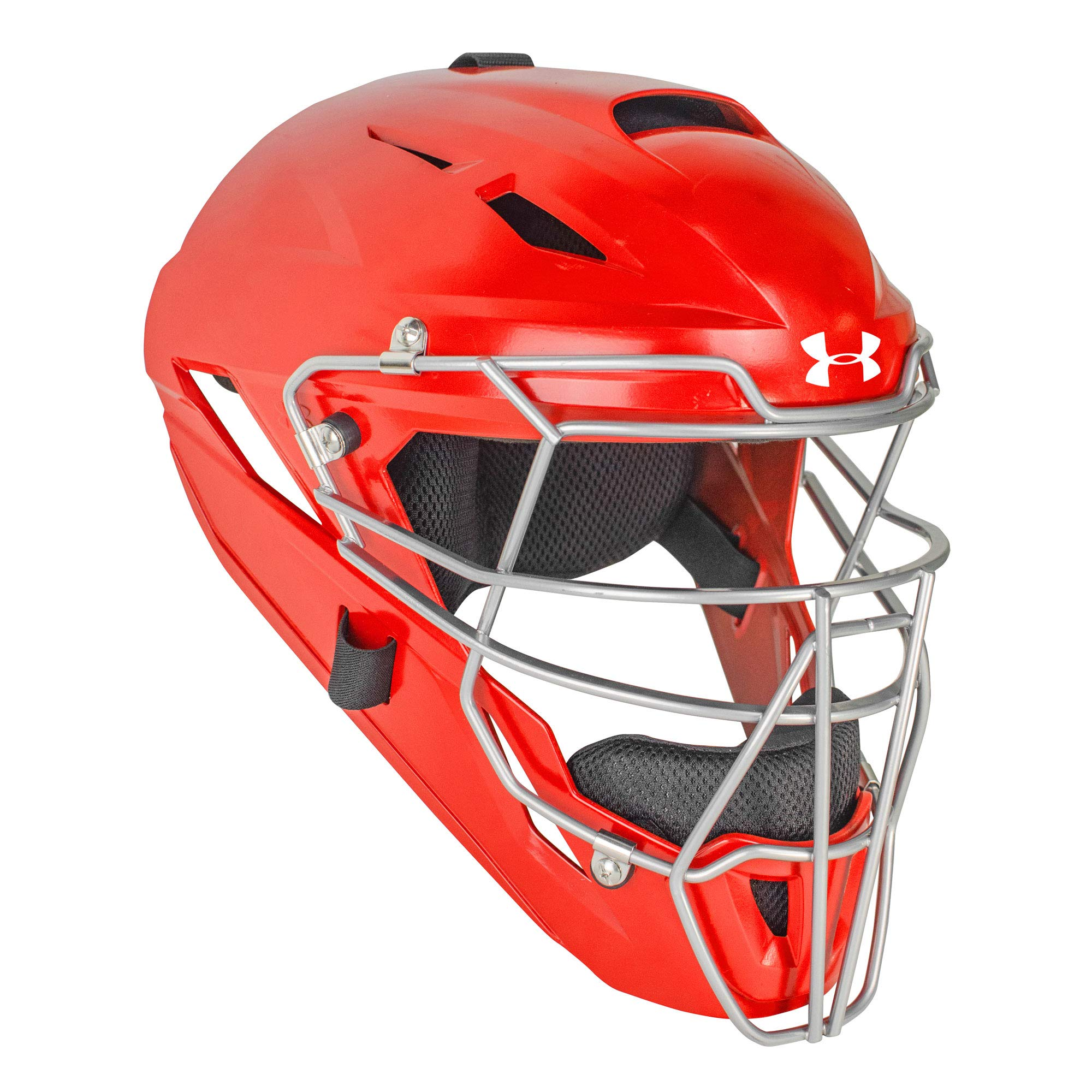 Under Armour Converge Solid Adult Baseball/Softball Catcher's Helmet by Under Armour