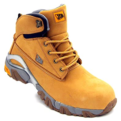 c9fdf6e5f6f JCB 4x4/H Men's S3 Nubuck Safety Boots: Amazon.co.uk: Shoes & Bags