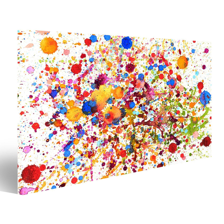 Quadro moderno impianto colorato Stampa su tela - Quadro x poltrone salotto cucina mobili ufficio casa - fotografica formato XXL islandburner