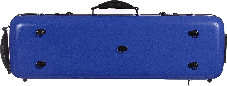 Estuche para violín fibra Safe Oblong 4/4 Azul M-Case: Amazon.es: Instrumentos musicales