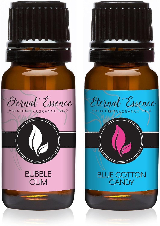 Pair (2) - Eternal Essence - Blue Cotton Candy & Bubble Gum - Premium Fragrance Oil Pair - 10ml