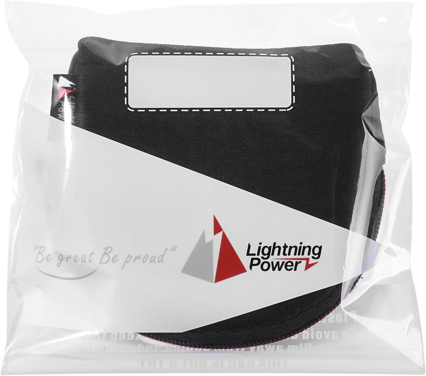 Lightning Power Kamera Filter Fall Beutel Für Runde Elektronik