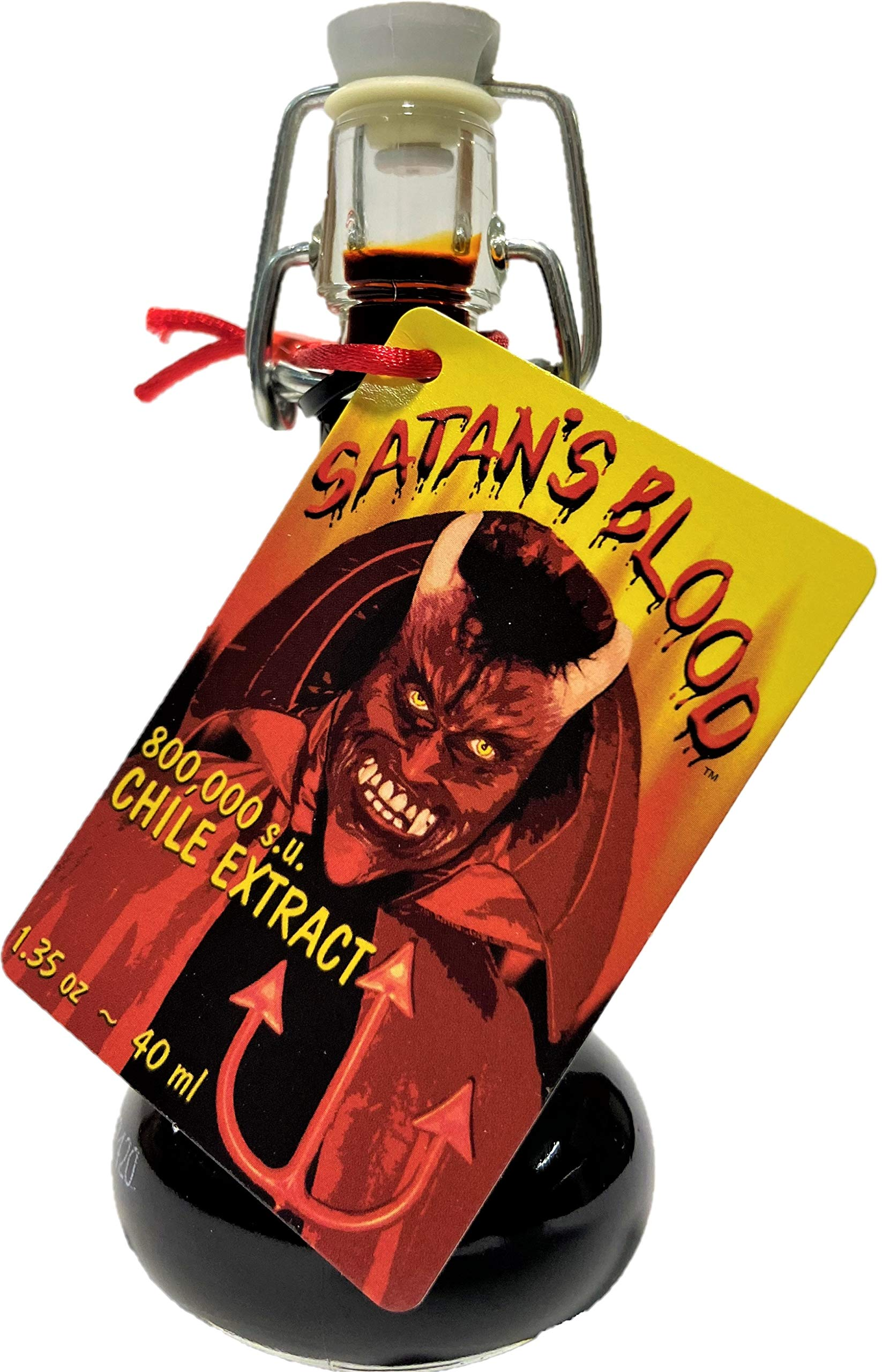 Satan's Blood Chile Pepper Extract Hot Sauce, 1.35 Ounce