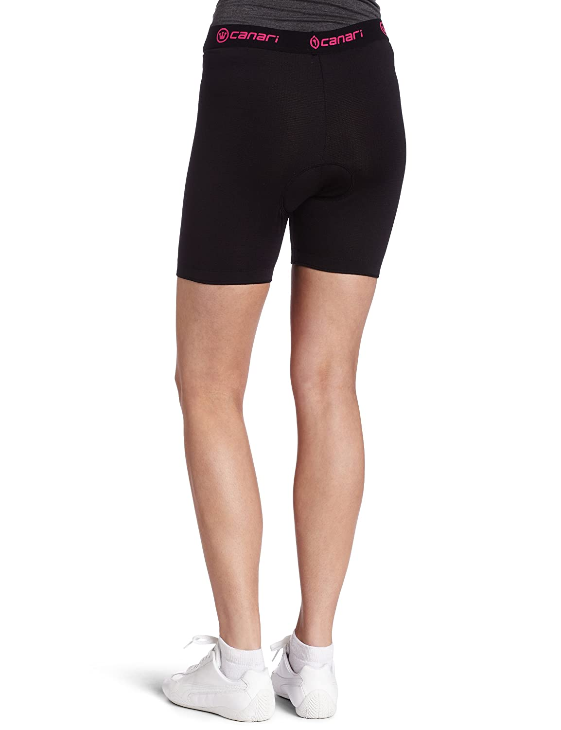 7f51e555283f Amazon.com : Canari Cyclewear Women's Gel Cycle Liner Padded Cycling Brief  : Cycling Compression Shorts : Clothing