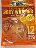 Hothands Adhesive Body Warmer (Choose Quantity Below)
