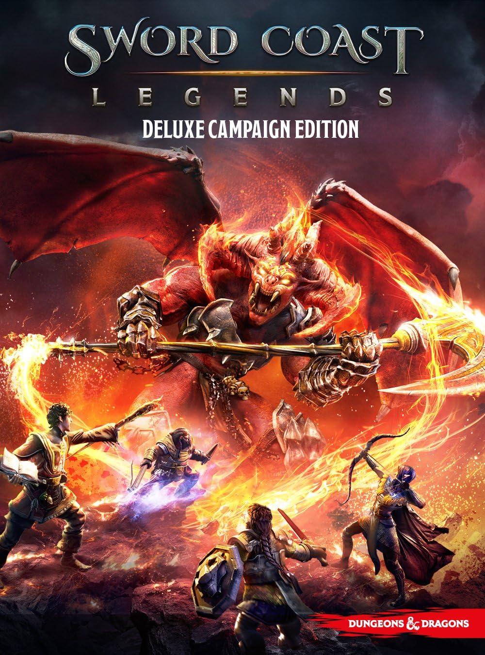 Amazon com: Sword Coast Legends: Deluxe Campaign Edition