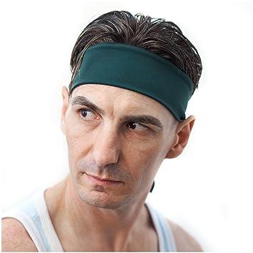 a8f05f9ba55c12 Red Dust Active Stirnband/Schweißband für Männer ideale Sport-Stirnband für  Tennis, Laufen
