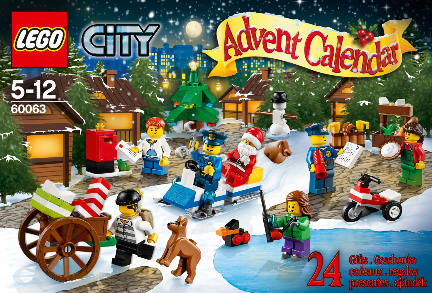LEGO A Calendrier Avent City dp BIIYNLW