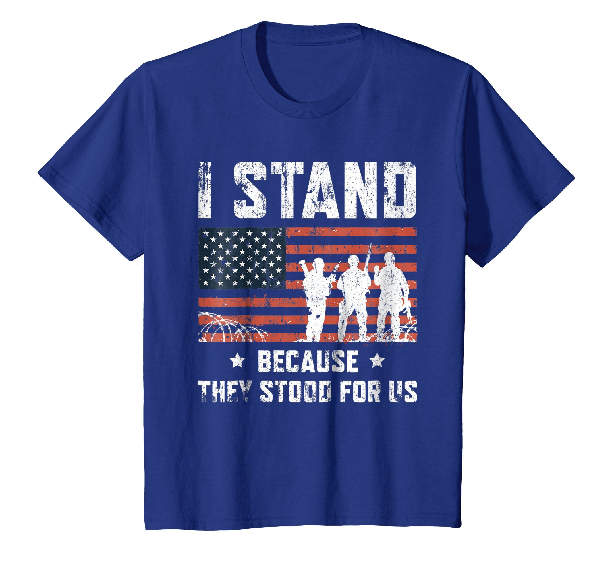 I Stand For The National Anthem Tshirt, I Dont Kneel Shirt
