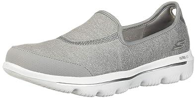 4934b2a29465 Skechers Women s GO Walk Evolution Ultra-Legacy Sneaker Gray 11 ...