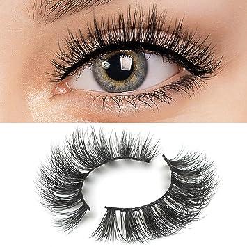 6a14f178430 Amazon.com : 3D Mink Lashes false eyelashes Private Label Eyelashes fake  eyelashes Hand-made mink lashes mink eyelashes Muselash 3d mink lashes  False Lashes ...