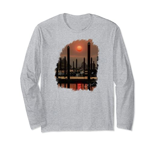 Smokey Sunrise Long-sleeved T-Shirt