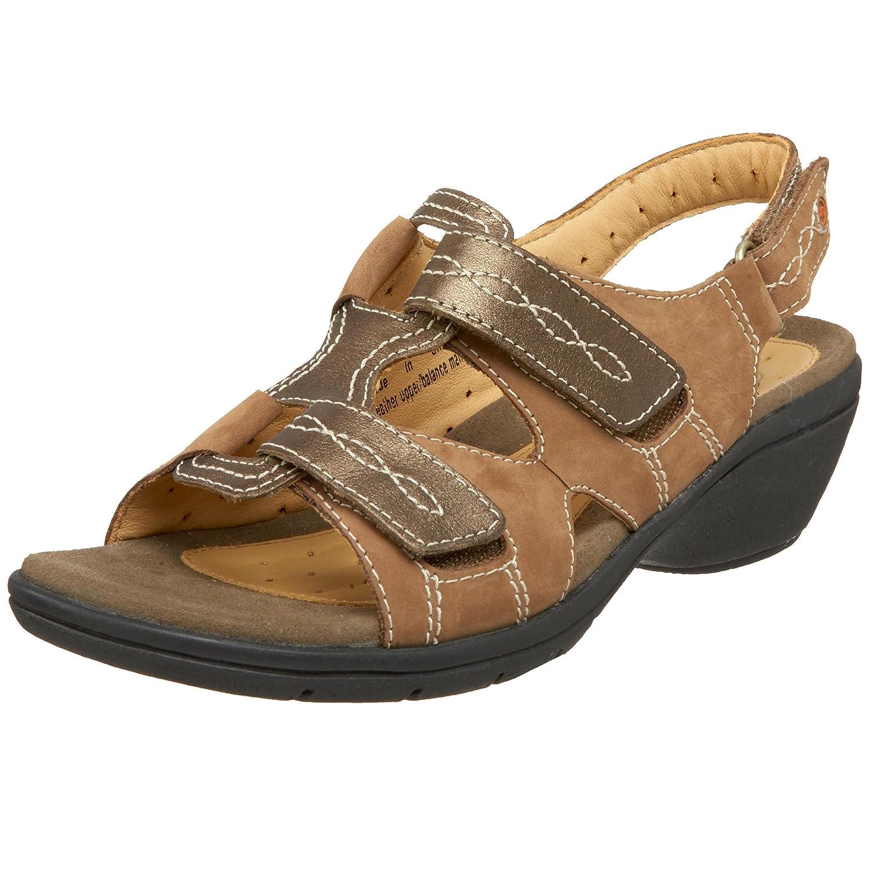 CLARKS Womens UN.GALLEY Sandal B002D9MNKQ 8 N US|Brown
