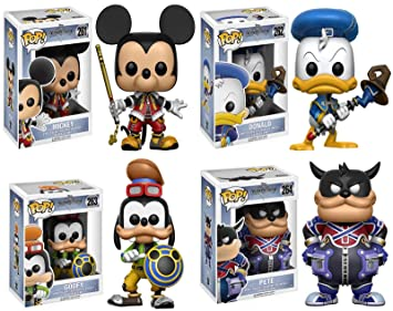 Action- & Spielfiguren Pete Disney FUNKO POP Kingdom Hearts