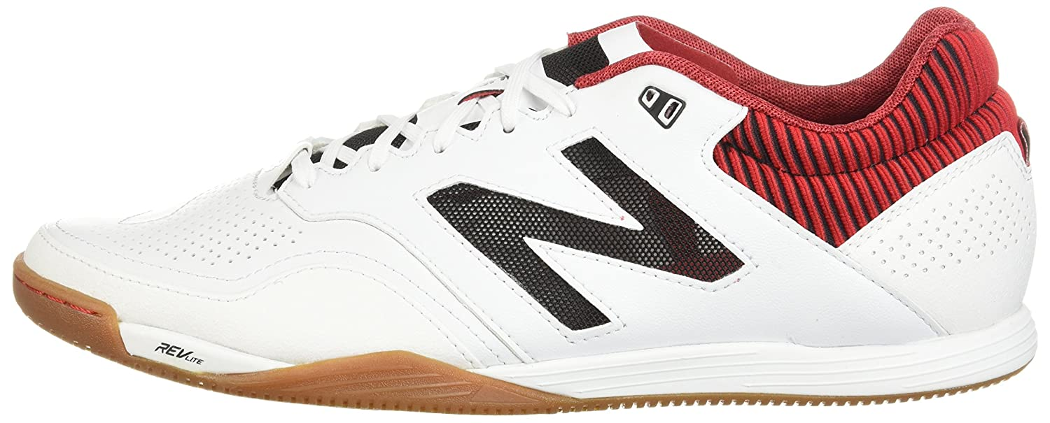 New Balance Men's Audazo 2.0 2.0 2.0 Pro in Soccer schuhe, Weiß rot, 6.5 2E US d379c5
