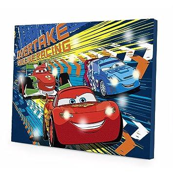 Amazon.com : Disney\'s Cars Wall Art by Idea Nuova by Idea Nuova ...